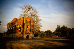 Ancient palace in Thailand Royalty Free Stock Images