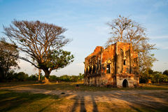 Ancient palace in Thailand Royalty Free Stock Photo