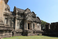 Ancient Palace in Thailand Stock Image