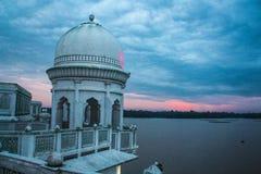 Neermahal palace. An ancient palace of Tripura kings royalty free stock images