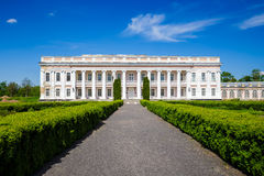 Ancient palace in Ukraine. An ancient palace of the Polish tycoons Potocki in Tulchin, Ukraine. The former residence of the President of Ukraine Viktor Stock Photo