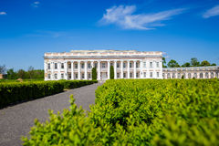 Ancient palace in Ukraine. An ancient palace of the Polish tycoons Potocki in Tulchin, Ukraine. The former residence of the President of Ukraine Viktor Royalty Free Stock Photos