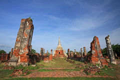 Ancient palaces in Ayutthaya Stock Images