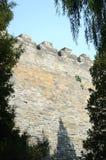 Ancient palatial wall Stock Photo