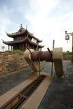 Ancient Pan Men Water Gate Suzhou China Stock Photography
