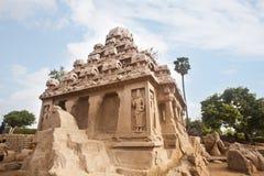 Free Ancient Pancha Rathas Temple At Mahabalipuram Stock Images - 36388534
