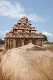 Ancient Pancha Rathas temple at Mahabalipuram Stock Photo