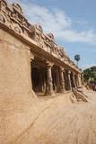 Ancient Pancha Rathas temple at Mahabalipuram Royalty Free Stock Photo