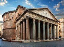 Ancient building of Rome Royalty Free Stock Photos