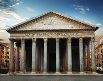 Ancient Rome Pantheon Royalty Free Stock Images