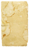 Ancient paper. Ancient stained paper sheet background royalty free stock images