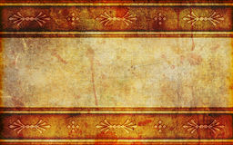 Ancient Paper Background With Design Patterns Stock Photo