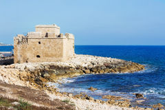 Ancient Paphos Castle Fortress. Stock Photography