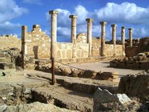 ancient paphos Royalty Free Stock Photography