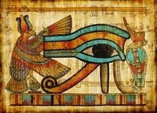 Ancient parchment stock image
