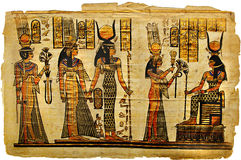 Ancient parchment Stock Photography