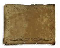 Ancient Parchment decorated royalty free stock images