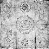Ancient Parchment Text Paper. Ancient script on parchment paper stock photo