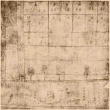 Ancient Parchment Text Paper. Ancient script on parchment paper Stock Photos