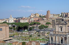 Ancient part of Rome Royalty Free Stock Photo