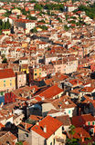 Ancient part of a Rovinj-city. Royalty Free Stock Photos