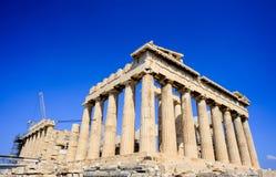 Ancient Parthenon Royalty Free Stock Photos