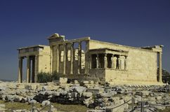 Ancient Parthenon Royalty Free Stock Photography
