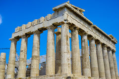 Ancient Parthenon is repairing Royalty Free Stock Image