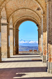 Ancient passage. Diano D'Alba, Italy. Stock Images