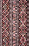 Ancient Pattern style Thai Cotton Stock Photo