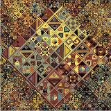 Ancient pattern. Vector illustration Royalty Free Stock Photos