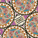 Ancient pattern. Vector illustration Stock Photo
