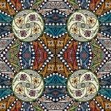 Ancient pattern. Vector illustration Stock Photo