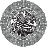 Ancient pattern. Vector illustration Stock Photos
