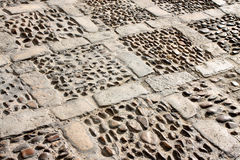 Ancient pavement Stock Photography