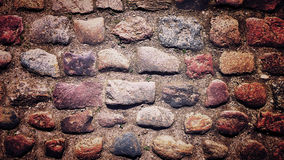 Ancient pavement texture Royalty Free Stock Photos