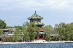 Ancient pavilion Royalty Free Stock Photography