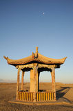 Ancient  pavilion  in china Royalty Free Stock Photo
