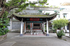 The ancient pavilion in huaisheng mosque Stock Images
