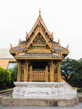 Ancient Pavilion Thai Style. Lateral Of Ancient Pavilion Thai Style royalty free stock photos