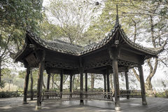 Ancient pavilion, westlake hangzhou Stock Photography