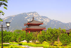 Ancient pavilions in Shaolin, China Royalty Free Stock Photos