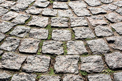 Ancient paving stone Royalty Free Stock Images