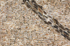 Ancient paving stone Royalty Free Stock Image