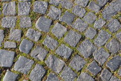 Ancient paving stones Royalty Free Stock Photos