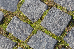 Ancient paving stones Royalty Free Stock Images