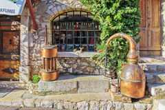 Ancient perfume laboratory in the village Gourdon