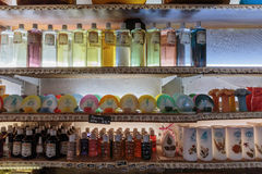Ancient perfume laboratory in the village Gourdon, France Royalty Free Stock Photo