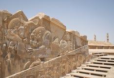 Ancient Persepolis entrance Stock Photos