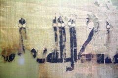 Ancient Persian cloth Royalty Free Stock Photo